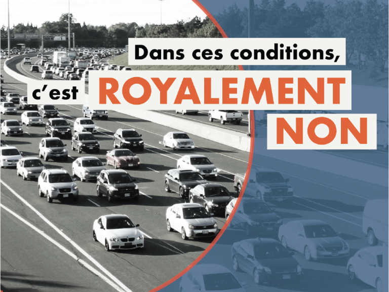Royalement NON
